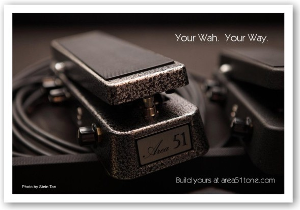 Area 51 - Home of the Area 51 Wah, wah pedal parts, mod kits